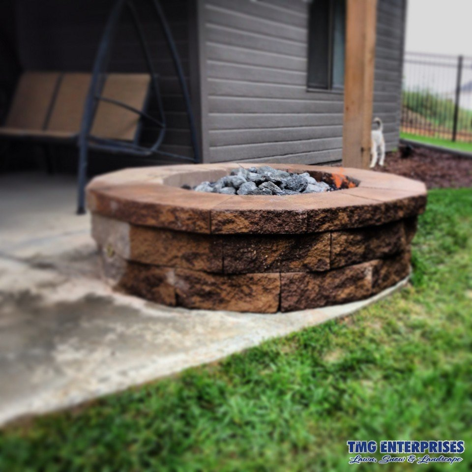 Fireplaces & Pits   Fire Features   Outdoor Living   T.M. Gaeta LLC